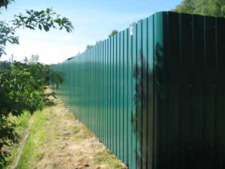 Хороший забор своими руками